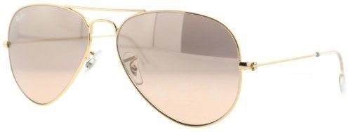 New Ray Ban RB3025 001/3E Aviator Gold Frame Crystal Brown ...