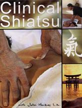 Click to get Clinical Shiatsu DVD. You'll learn about Back-shu Points, and Ashi points from instructor John Hickey. In-depth information includes helpful tips and techniques to help you evaluate clients in terms of excessive or deficient, chi or blood stagnation, a meridian review and much more. Just $67.74...DVD's on special till July 31, 2012 Enter Coupon code JulyDVD when you check out to get 25% off when you buy any 2 titles.