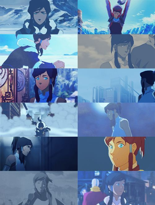""" (color picspam): Korra + Blue [requested by [x]] """