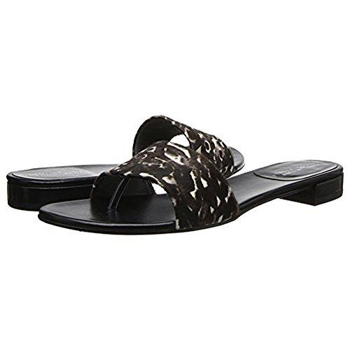 STUART WEITZMAN Stuart Weitzman Womens Slipstack Calf Hair Leopard Print Thong Sandals. #stuartweitzman #shoes #shoes