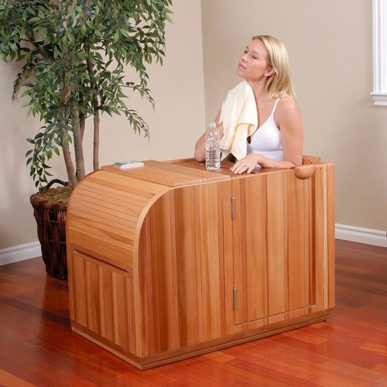 Health Partner F.I.T.T. (Far Infrared Thermal Therapy) Sauna System | Organic Spa Magazine's 2013 Gift Guide: Home Spa Goer