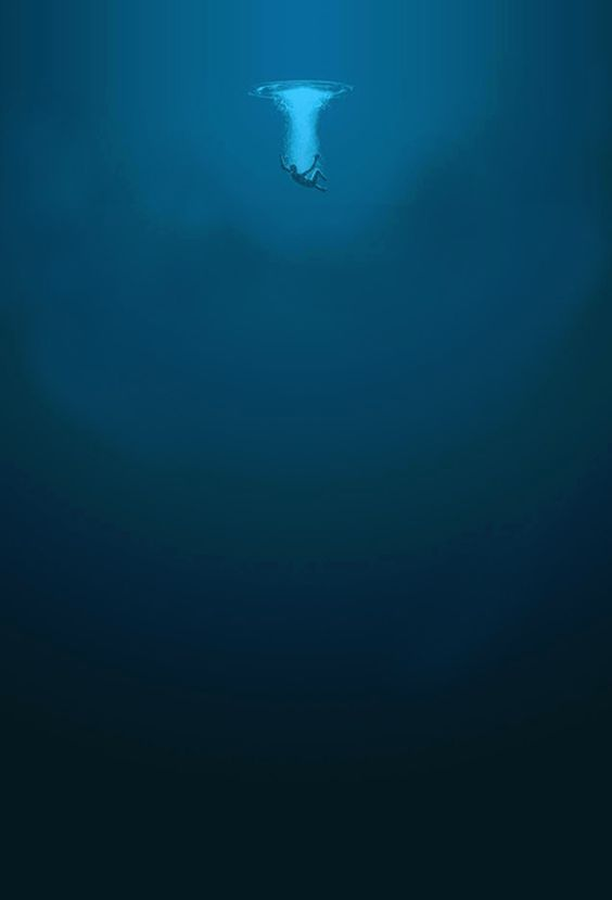 The ocean can be a beautiful, but frightening place