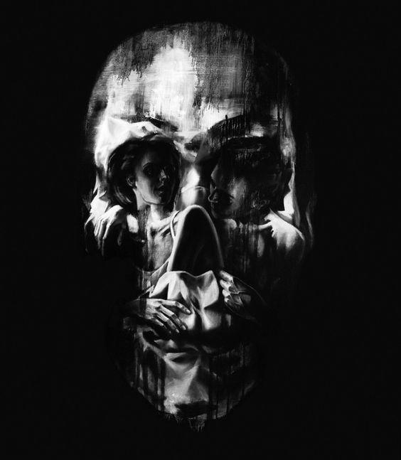 1280x1024 skull optical illusion - photo #13