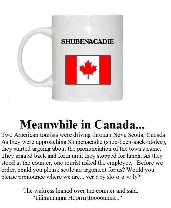 Shubenacadie!