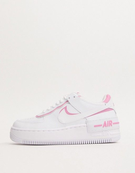nike air force 1 shadow bianche e gialle