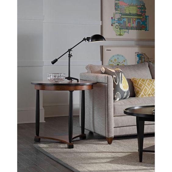 Vanguard Furniture Cyril Lamp Table 8312L-WM