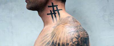 Tatuajes En El Cuello Tatuajes Cuello Tatuajes De Cruz En El Cuello Y Tatuajes Pequenos Cuello