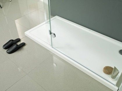 Receveurs de douche arquitect systempool s a for Douche porcelanosa