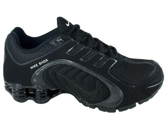 Nike Shox Navina Black Sparkle Running Gym Womens Shoes 356918 002 Nike  RunningCrossTraining  Tennis shoes  Pinterest  Nike shox, Moncler and  Nike ...
