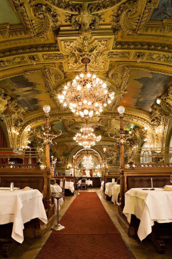 Le train bleu salon de th et caf salons de th paris for Salon de the nice