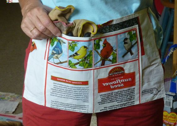 Living Green: Seed & Feed Bags to Tote Bags