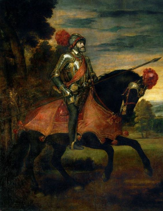 Charles V in Armour. Rubens. 1548.