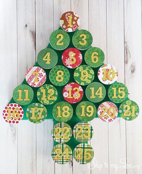 Make an advent calendar. | 33 Genius Ways To Reuse Your K-Cups