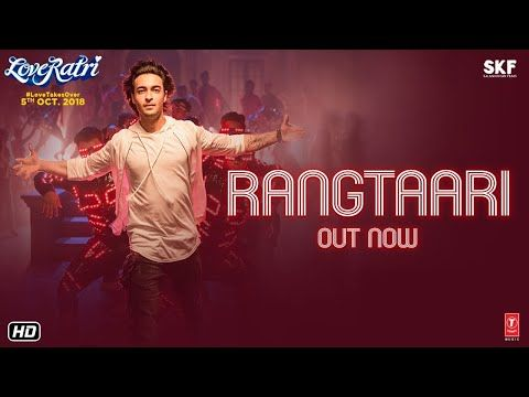 Salman Khan Shared The New Song From Loveratri Titled Rangtaari And Said Watch The Amazing Garba Songs Songs Bollywood Songs