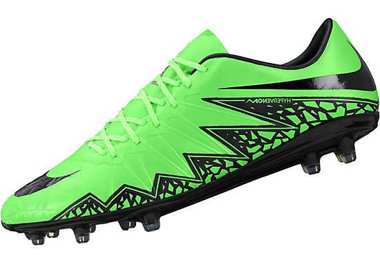 Nike Hypervenom Phinish FG Soccer Cleats - Green and Volt