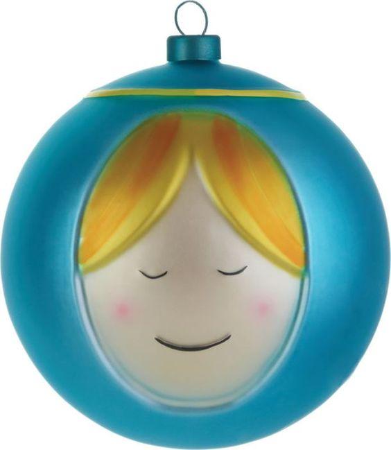 La Vírgen María, esfera hecha a mano de Alessi.