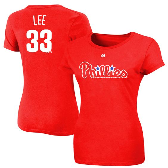 2012 fashion womens by majestic athletic jersey shop the ultimate sports store for cliff lee philadelphia phillies majestic womens name number t