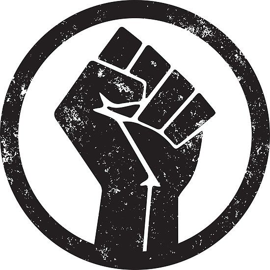 Black Power Raised Fist Poster By Blacklives Black Lives Matter Poster Black Lives Matter Art Black Power Fist