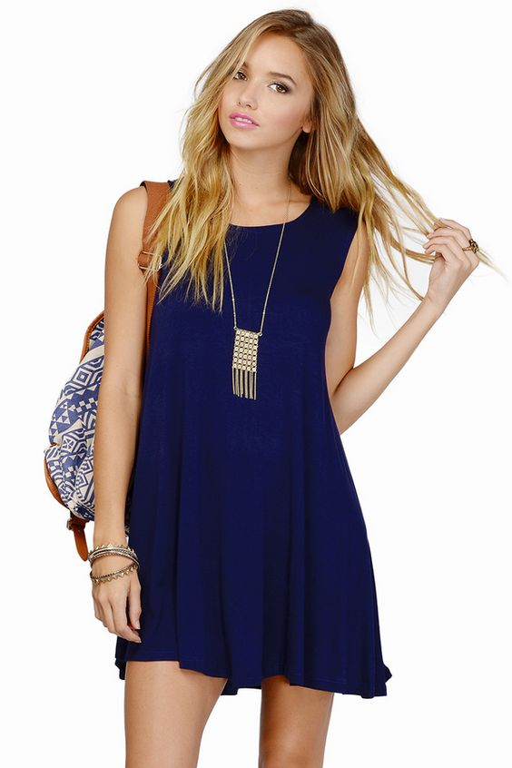 Make My Day Tunic Dress #TOBI