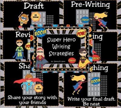 Super Hero Writing Strategies