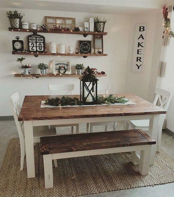 Alluring Dining Room Wall Décor Ideas (5)