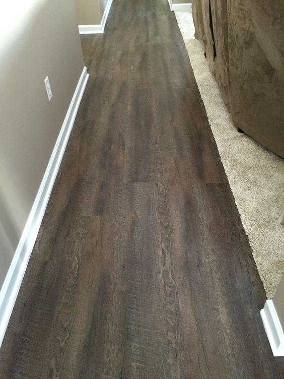 Home depot TrafficMaster Allure Sawcut Dakota Vinyl Planks