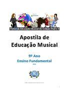 Apostila de Educação Musical