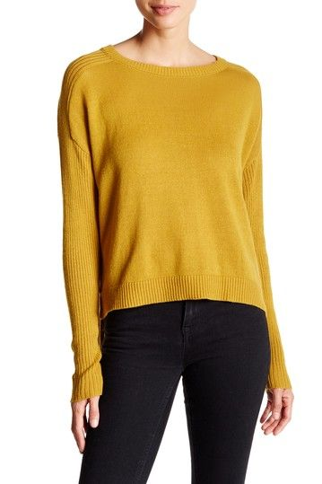 Cropped Boxy Sweater by Abound on @nordstrom_rack