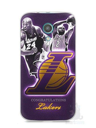 Capa Moto G2 Lakers