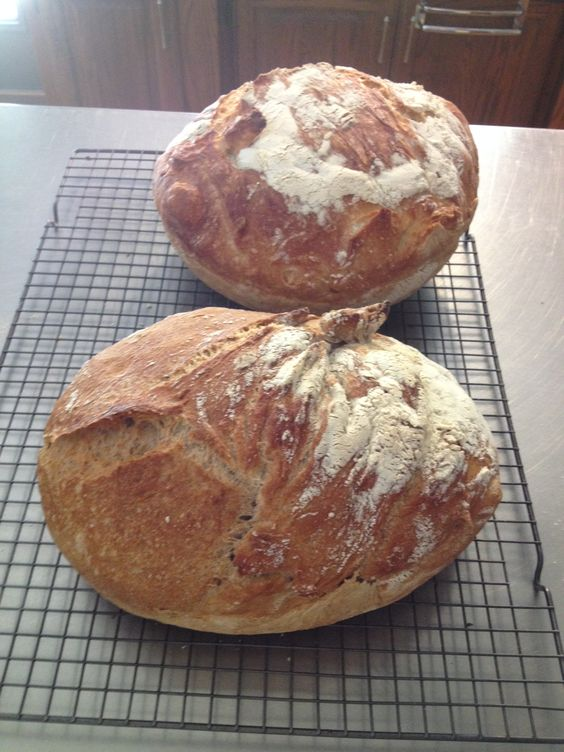 ... the smell of fresh bread