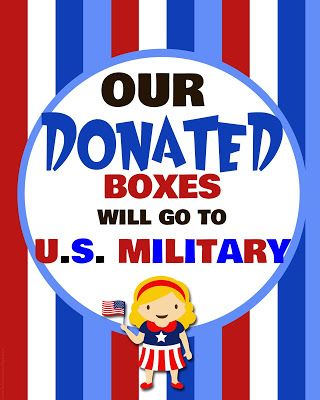 girl scout cookies   military donation thank you cards