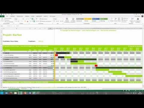 Vorlage Projektplan Excel Alle Meine Vorlagen De 6
