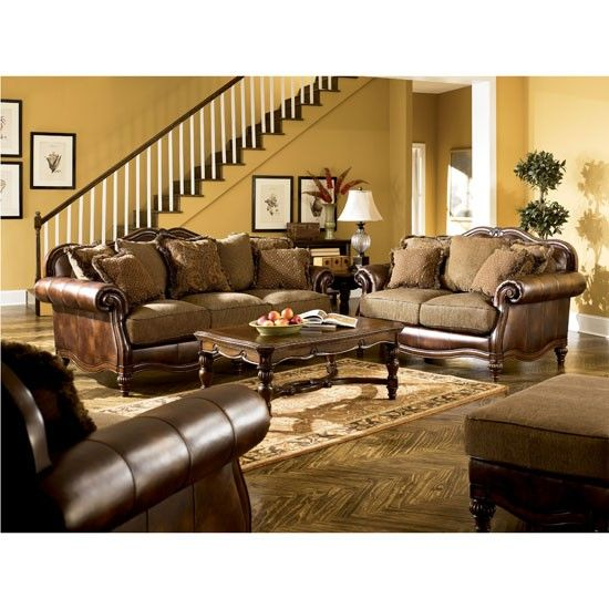 Claremore Claremore Nubuck Fabric Brown Sofa Set Dining Room Table Sets Bedroom  Furniture Curio Cabinets and. Lease To Own Accent Chairs Nashville