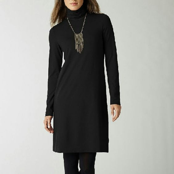 Ribbed Velour tunic dress NWT SZ L. Heather Charcoal. Split hem on sides (vented). Ribbed Velour is the SOFTEST! J. Jill Dresses