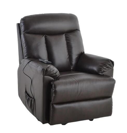 Lift Chair And Power Pu Leather Living Room Heavy Duty Reclining Mechanismoris Fur Lift Chair And Power Pu Leather In 2020 Living Room Leather Lift Chairs Relaxing Chair