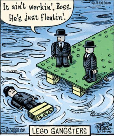 LEGO Comic Gangsters #lego #legocomic #gangsters #comic