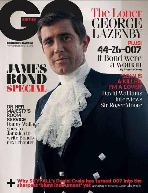 #Skyfall - GQ celebra i James Bond della storia - George Lazenby