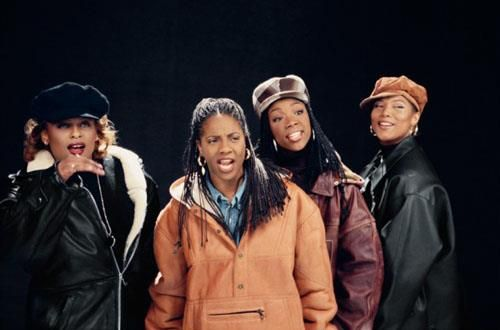 (From left to right) YoYo, MC Lyte, Brandy & Queen Latifah