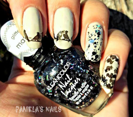 Pamela's Nails: Halloween Stamping With Bunny Nails Plates http://bunnynails.ecrater.com/ #halloween #nailart