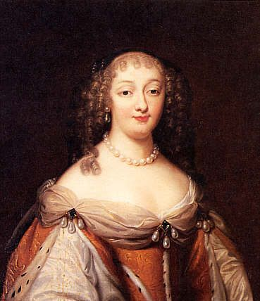 1650-1655 Anna Gonzaga (1616-1684) Countess Palatine of Simmern by Henri Beaubrun (location unknown to gogm)