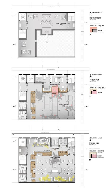 Interior design thesis project