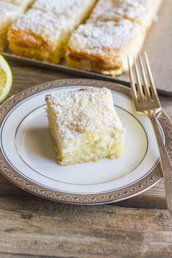 Cream Cheese Lemon Coffee Cake  - Delish.com