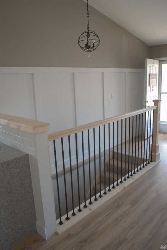 Best Banisters Stains And Board And Batten On Pinterest 640 x 480