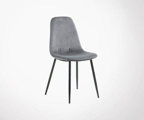 Chaise Plastique Pieds Bois Design Scandinave Inspiree Grand Designer En 2020 Chaise De Salle A Manger Fauteuil Salle A Manger Chaise Salle A Manger