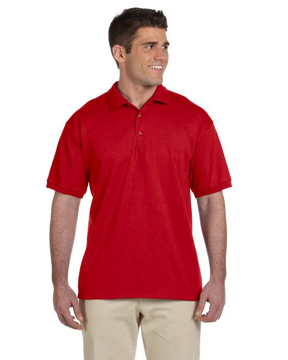 Gildan Mens Ultra Cotton Jersey Short Sleeve Polo Shirt G280