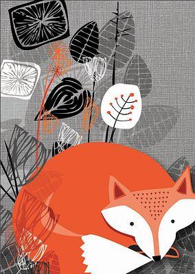 Rocket 68 Greetings Cards Somerset | Wilderness Prints