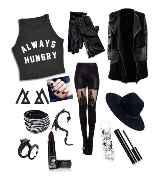 """""""Untitled #13"""" by ayatodeh ❤ liked on Polyvore featuring beauty, Tommy Hilfiger, rag & bone, Manic Panic and Chanel"""