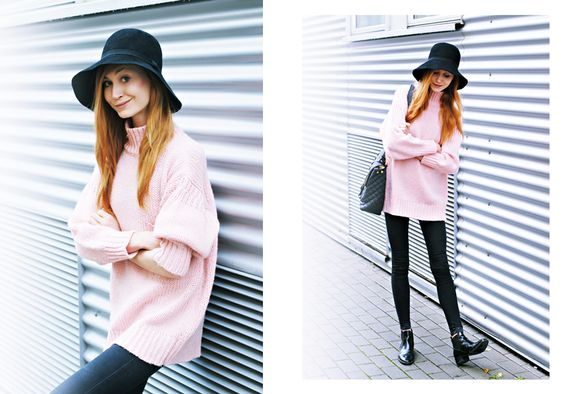 oversized and pink