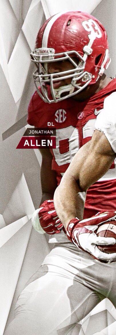 Jonathan Allen DL Alabama | 2016 Football Spring Guide by the Alabama Crimson…