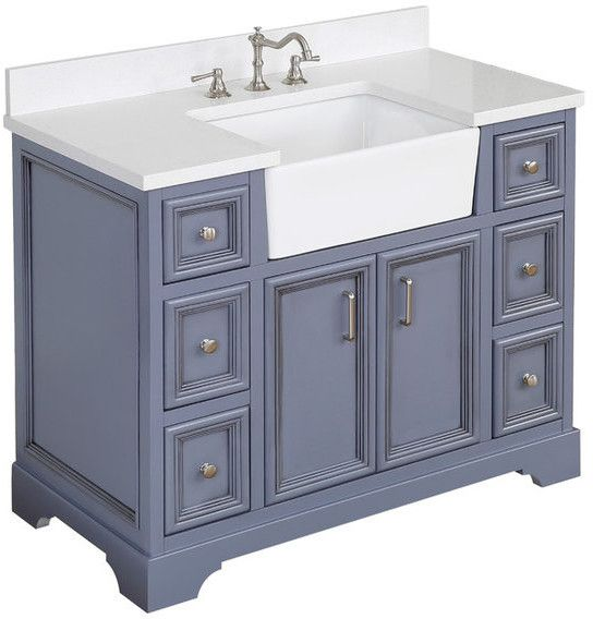 25++ 49 inch left offset bathroom vanity top best
